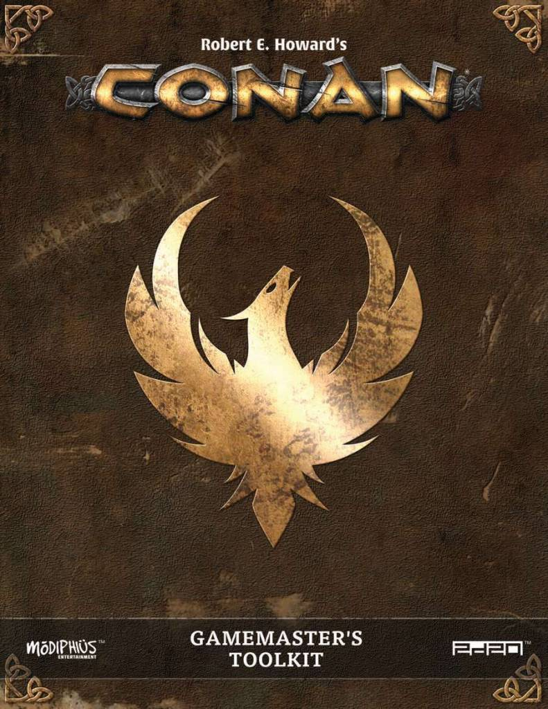 Conan RPG: Gamemaster Screen