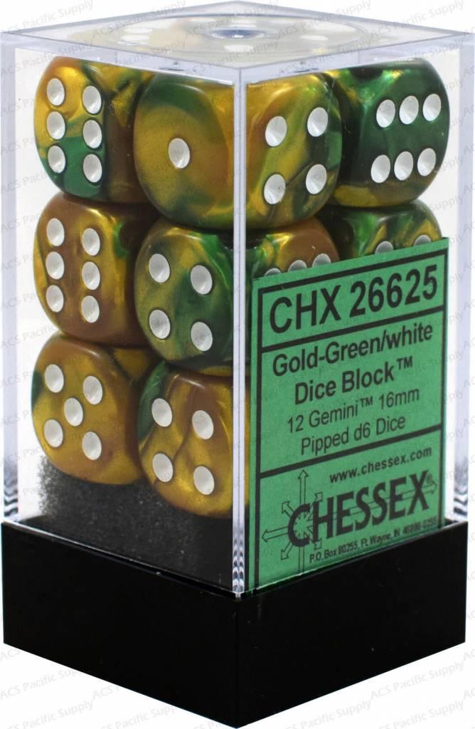 26625 gemini 12d6 gold-green