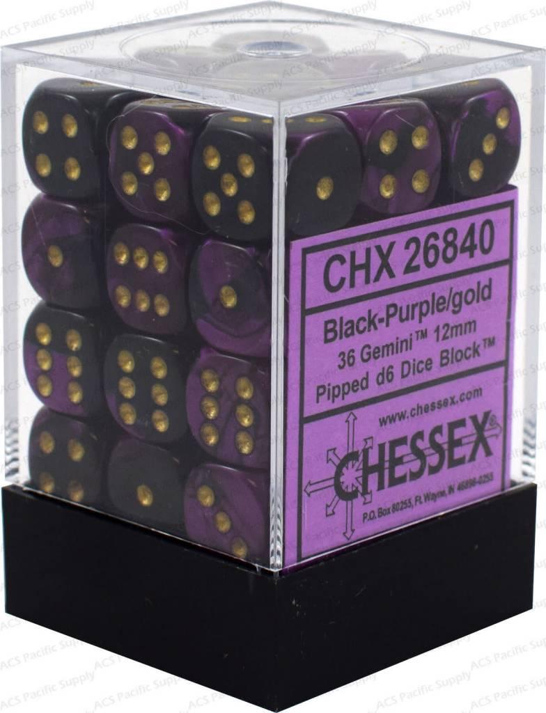 26840 36D6 (Black purple/gold)