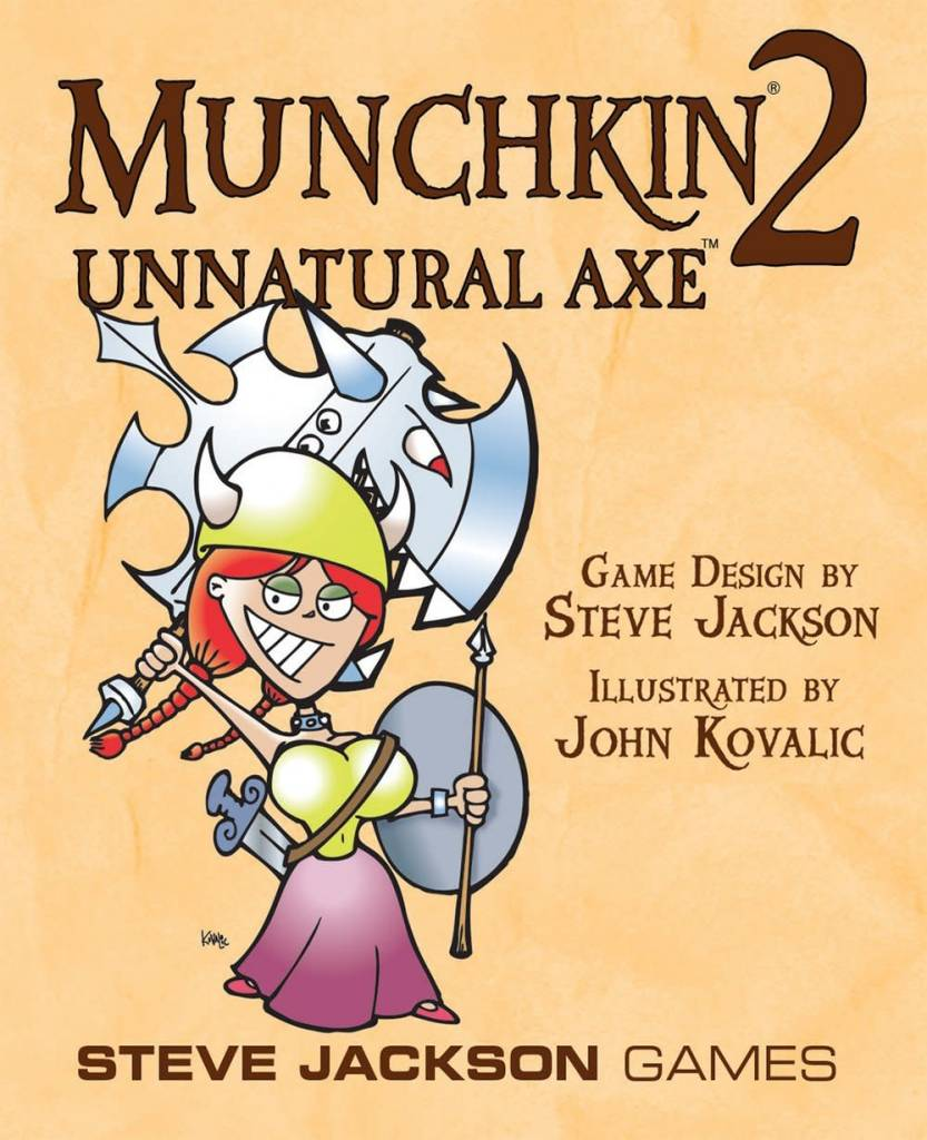 Munchkin 2: Unnatural Axe (Revised Edition)