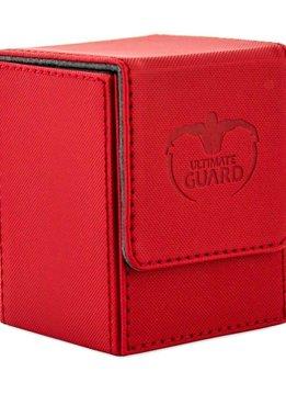 Flip Deck Case Leather Rouge 80