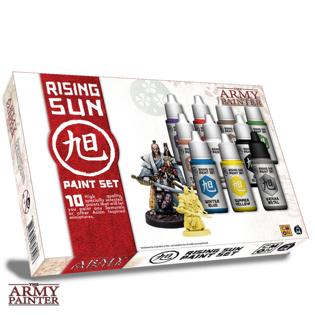 Warpaints: Rising Sun Paint Set