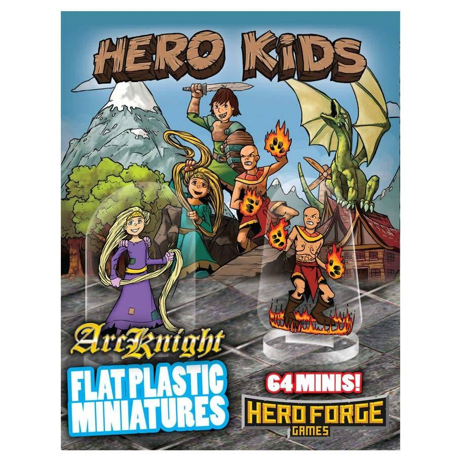 Flat Plastic Miniatures: Hero Kids