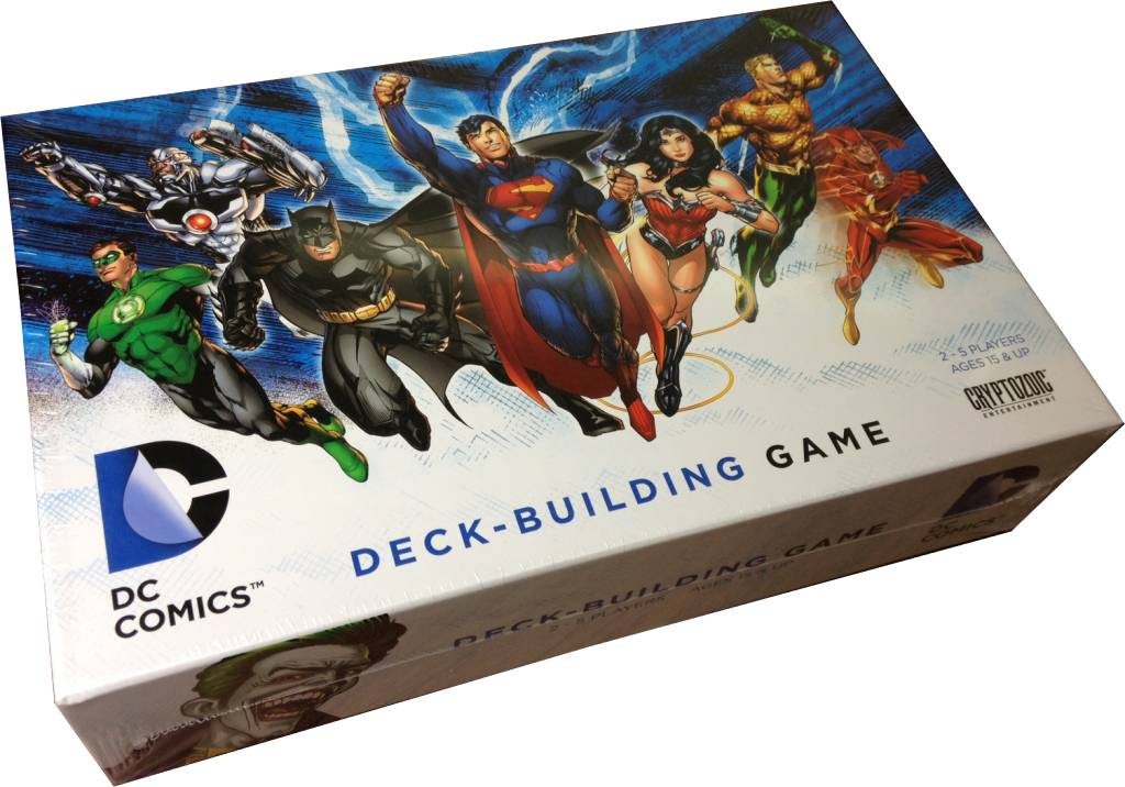 DC Comics Deck Building Game (FR)