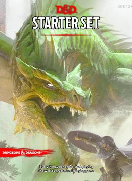 Donjons & Dragons: Kit D'Initiation (FR) (Précommande, de retour novembre 2020)