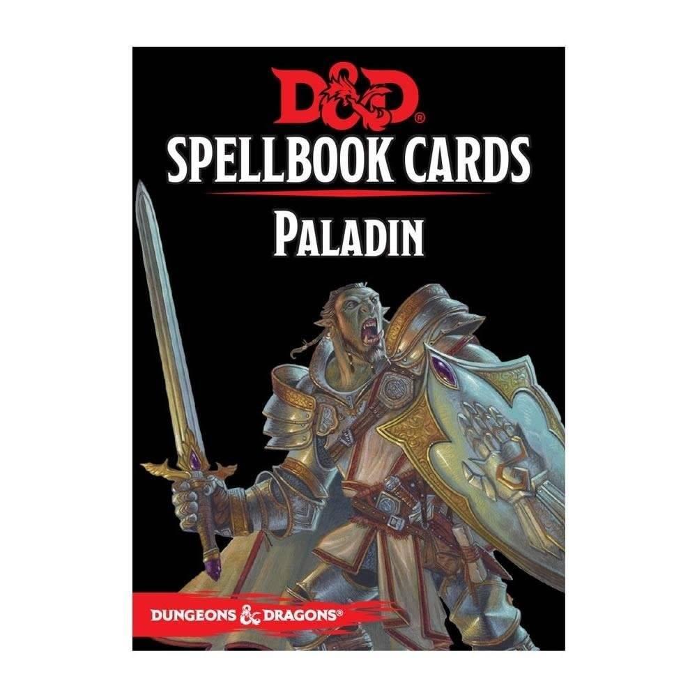 DD5 Cartes de Sorts - Paladin
