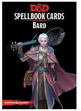 Donjons & Dragons: Cartes de Sorts: Barde Deck (FR) (Précommande, de retour novembre 2020)