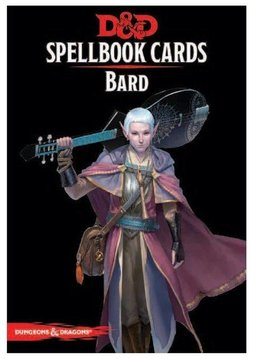 Donjons & Dragons - Cartes de Sorts: Barde (FR)
