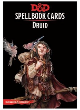 DD5 Cartes de Sorts - Druide