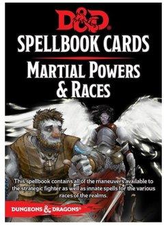 DD5 Cartes de Sorts - Races & Puissances Martiales
