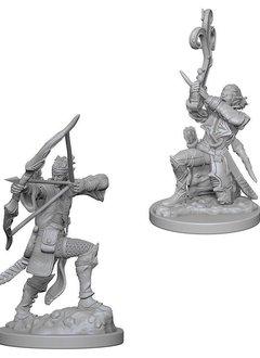 DND Unpainted Minis: Elf Male Bard