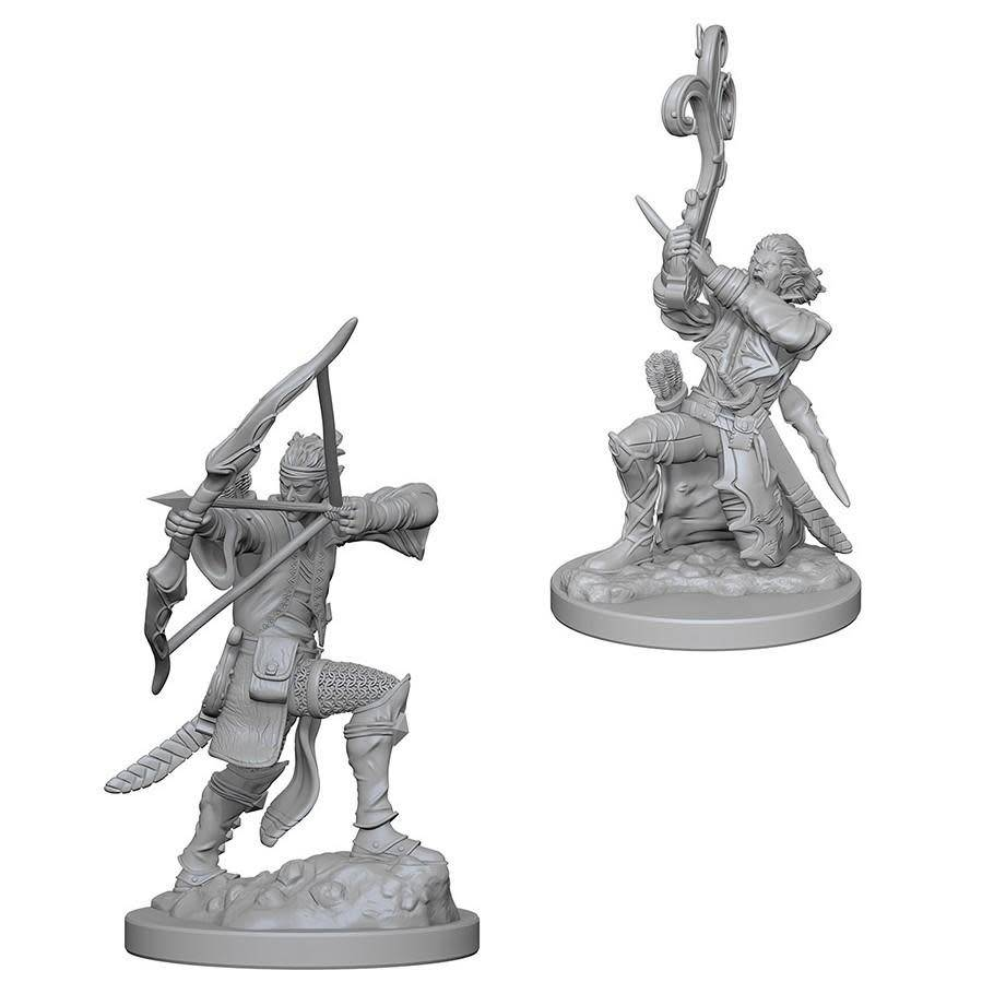 DND Unpainted Minis: Elf Male Bard