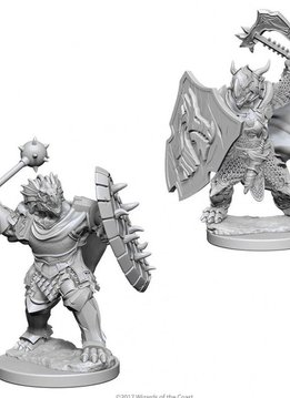 DND Unpainted Minis: Dragonborn Male Paladin