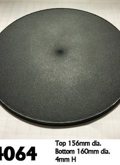 160mm Round Gaming Base