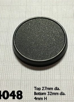 Reaper 32mm Round Gaming Bases (10)