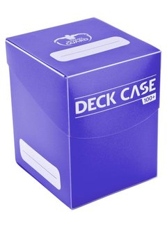 Deck Case 100+ (Purple)