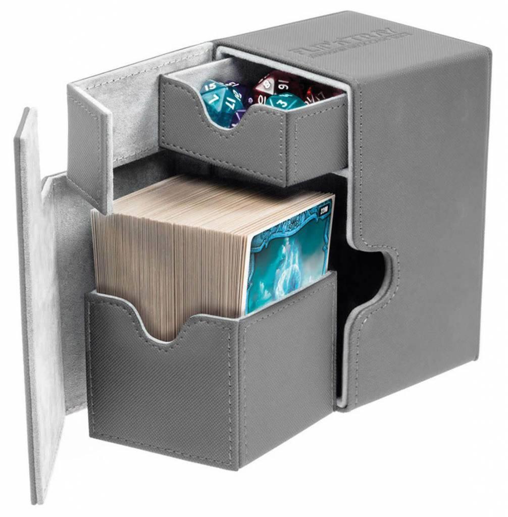 Deck Box Flip N Tray Xenoskin Grey 100+