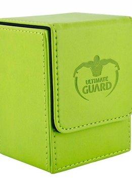 Flip Deck Case Leather Green