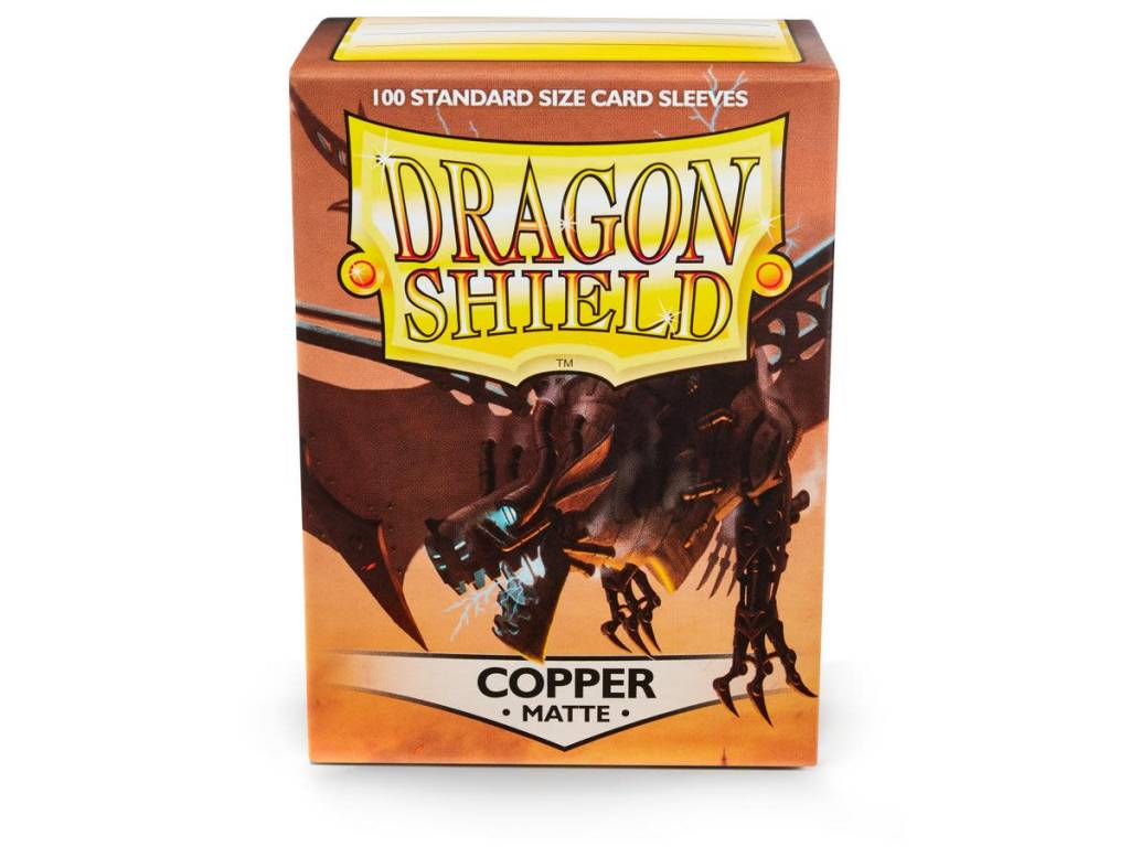 Dragon Shield Matte Copper