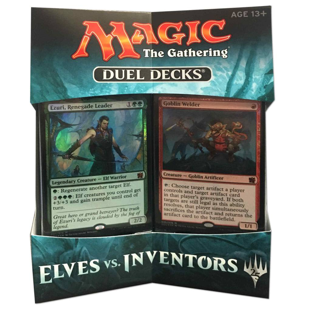 Deck Box Elves vs. Inventors