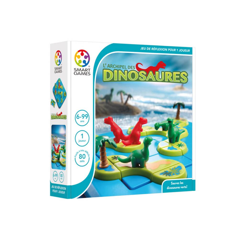 L'Archipel des Dinosaures (Smart games)