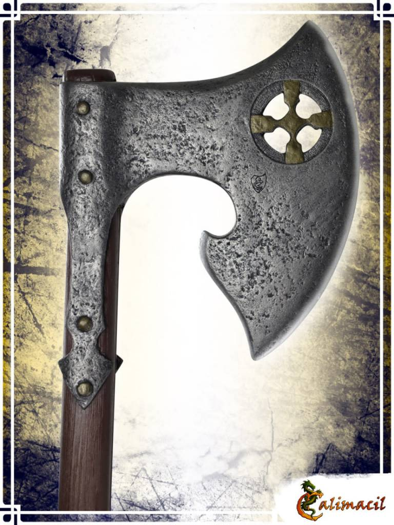 YNGVAR, THE RAVEN FEEDER AXE