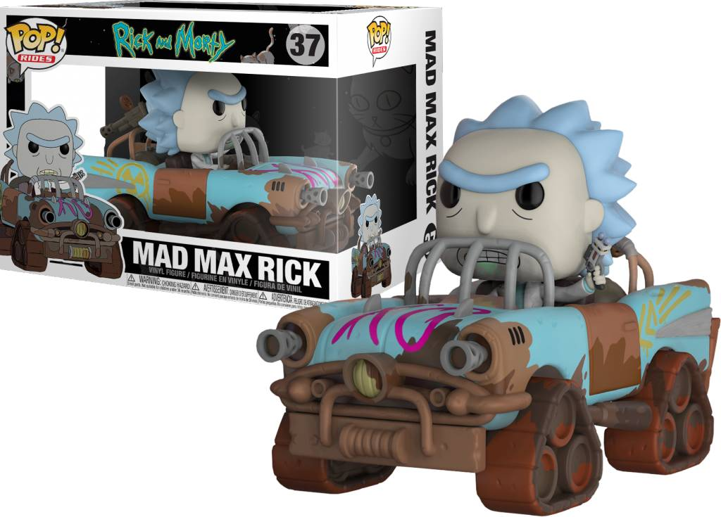 Pop! Rick & Morty - Mad Max Rick