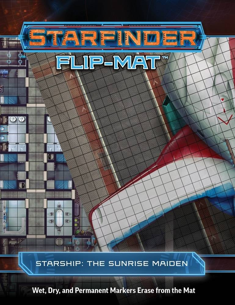 Starfinder Flip-Mat The Sunrise Maiden Starship