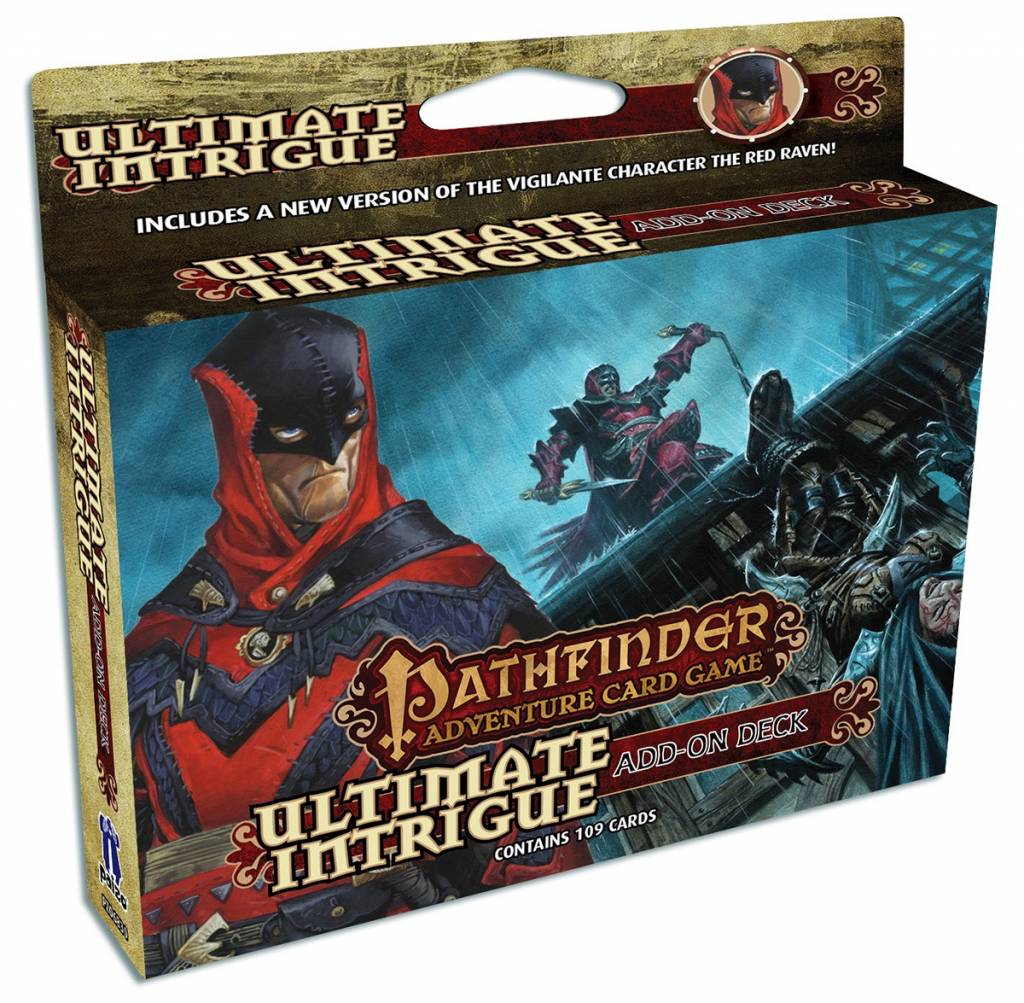 Pathfinder Card Game - Ultimate Intrigue Add-on