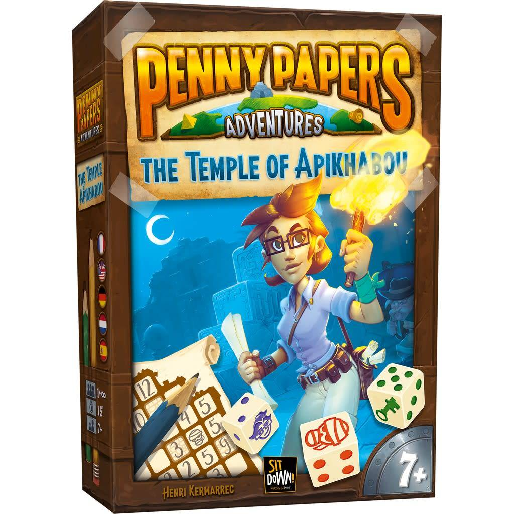 Penny Papers Adventures - Le Temple d'Apikhabou