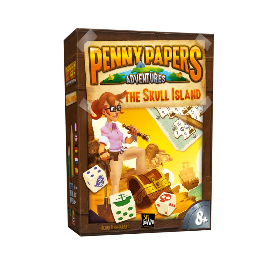 Penny Papers Adventures - L'Ile aux Cranes