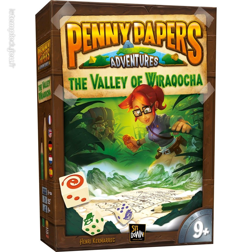 Penny Papers Adventures - La Vallee de Wiraqocha