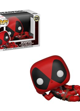 Pop MVL Deadpool Lying Down