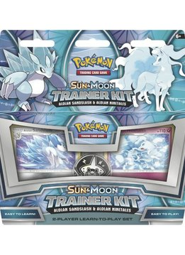 Pokemon Sun & Moon Sandslash & Ninetales Trainer Kit