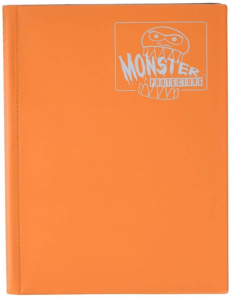 9 Pocket Portfolio Matte Orange