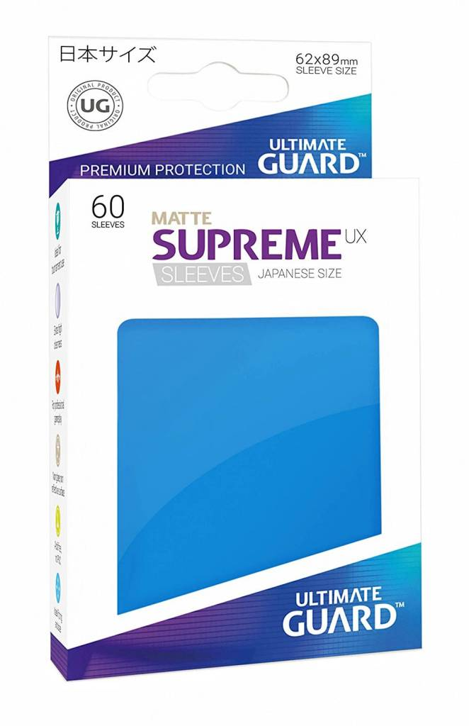 Supreme UX Japanese Matte Royal Blue 60ct