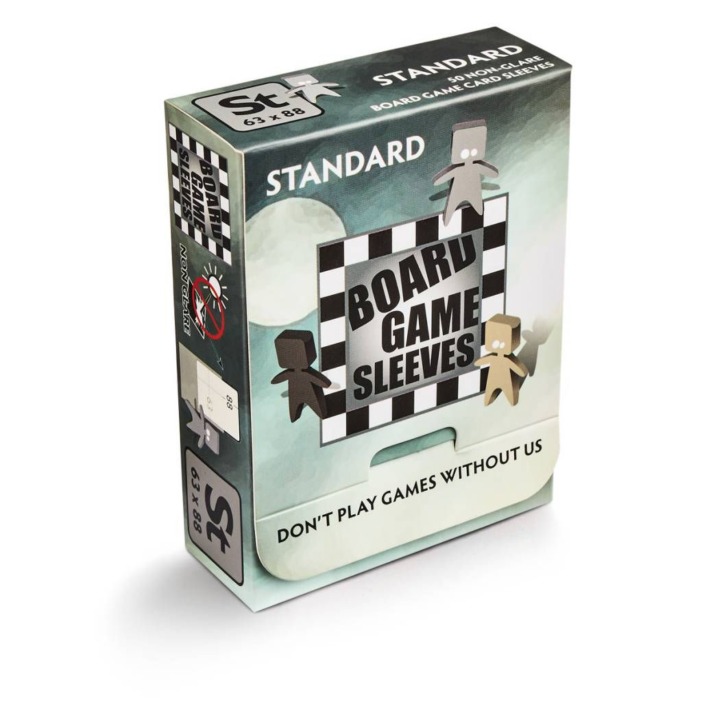 Board Game Sleeves - Standard 63x88mm