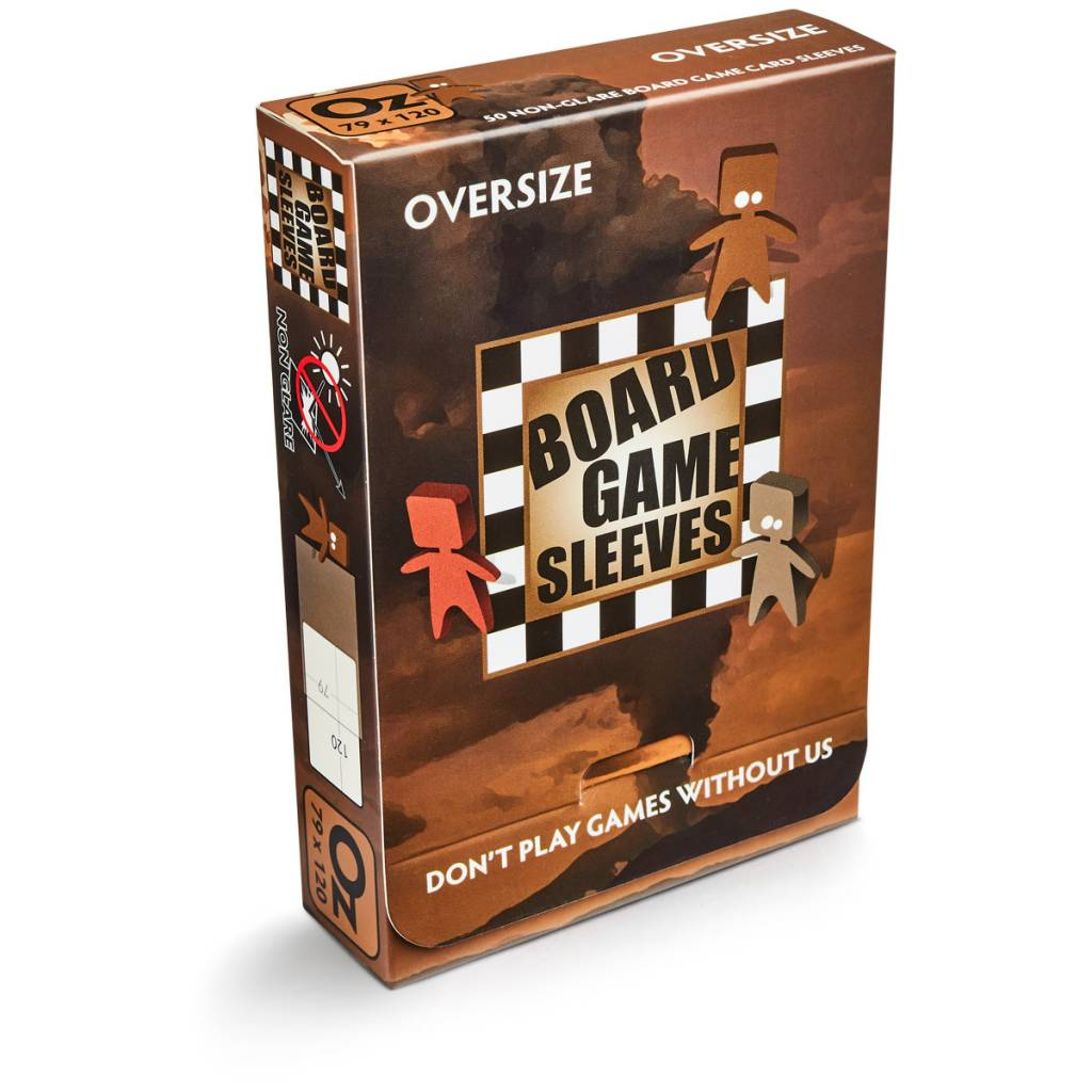 Board Game Sleeves - Oversize 65x100mm