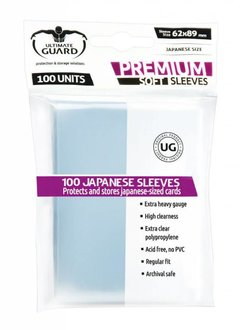 Premium Soft Sleeves Mini 100ct