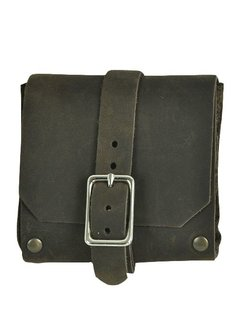 Small Square Pouch (Brown)
