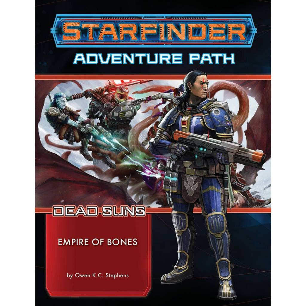 Starfinder Adventure Path: Empire of Bones (Dead Suns 6 of 6)