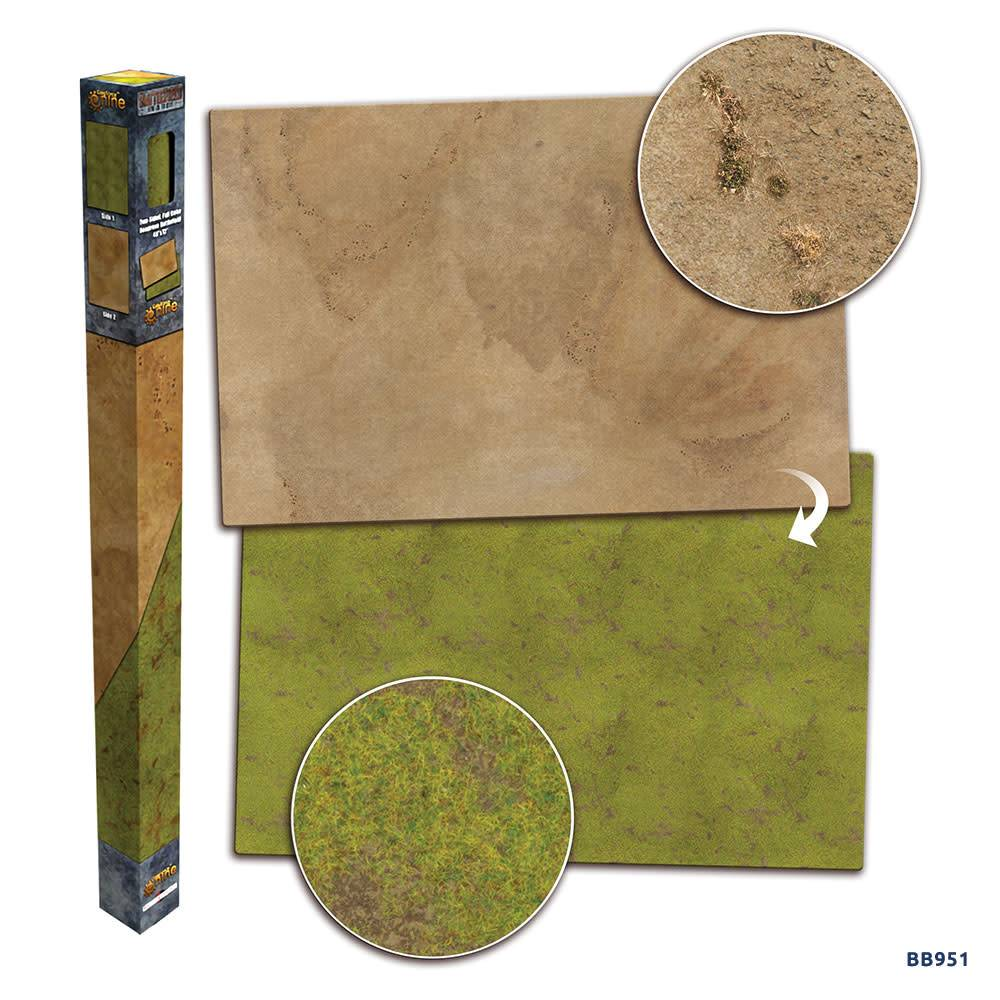 Battlefield in a Box - Grassland/Desert Gaming Mat