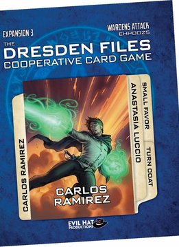 Dresden Files Cooperative CG Exp - Wardens Attack