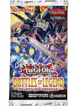 YGO Battle of Legend Relentless Revenge Booster Pack