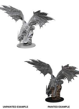 PF Unpainted Minis: Silver Dragon