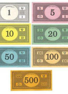 Argent de Monopoly