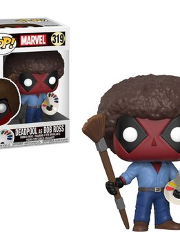 Pop! Deadpool Bob Ross