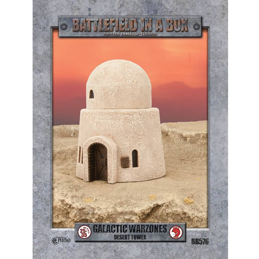 Battlefield in a Box - Desert Tower