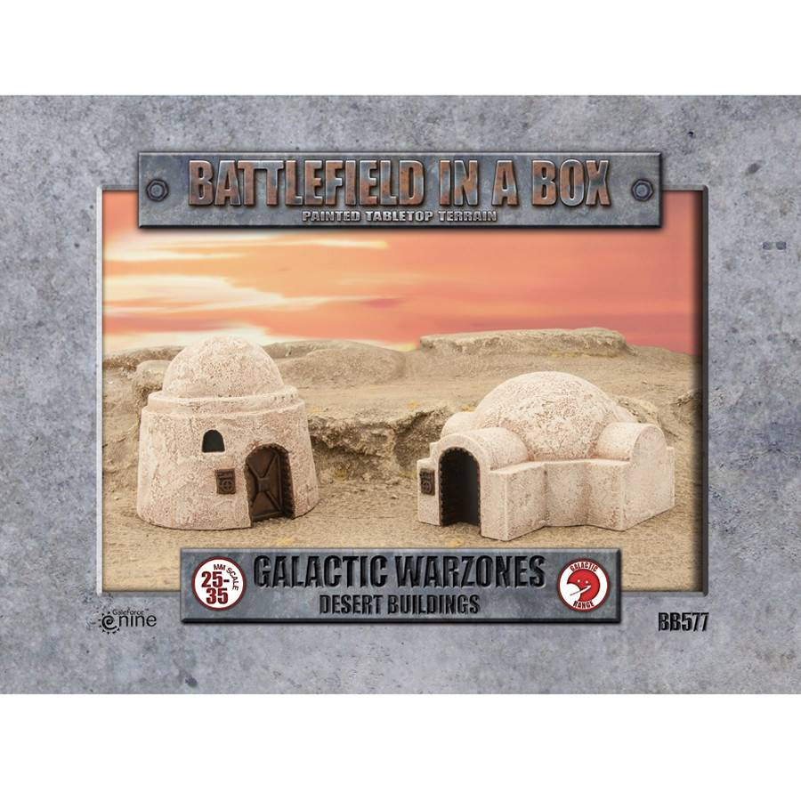 Battlefield in a Box - Desert Walls