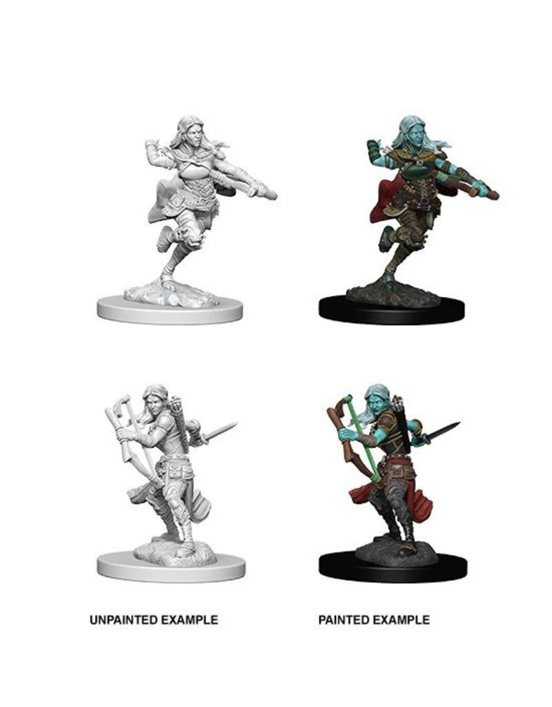 DND Unpainted Minis: Air Genasi Female Rogue
